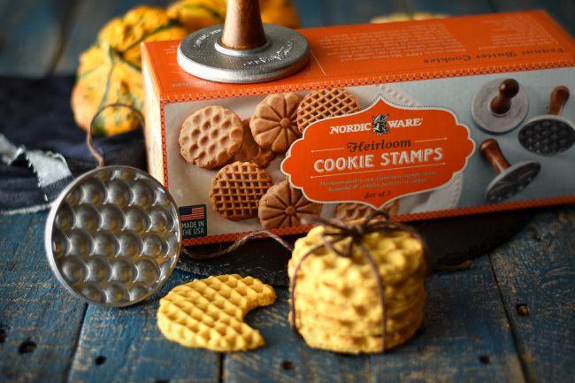 Pumpkin and Peanut Butter Cookies