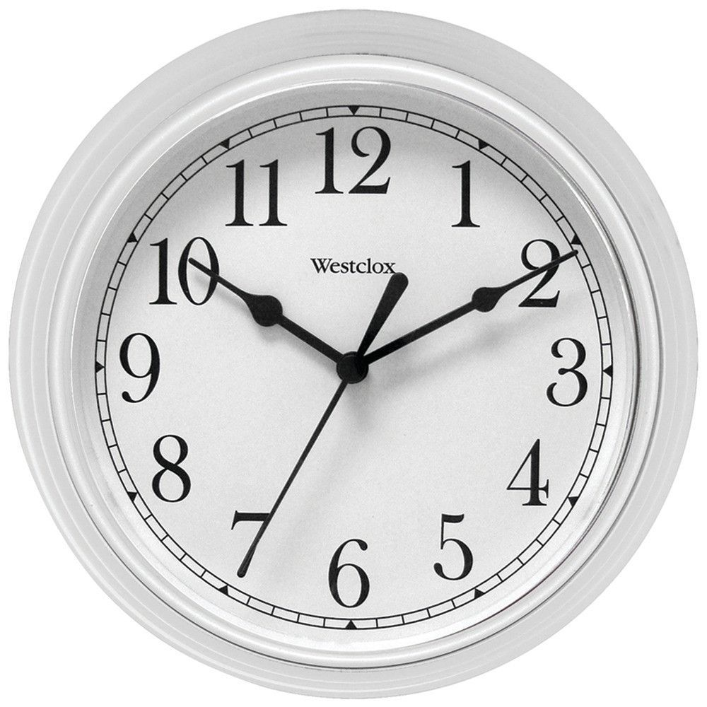Smart Westclox Wall Clock Second Hand New Free Us Shipping Westclox Decorative Wall Clock Products Wood Wall Clocks Wall Clocks furniture White Wall Clocks