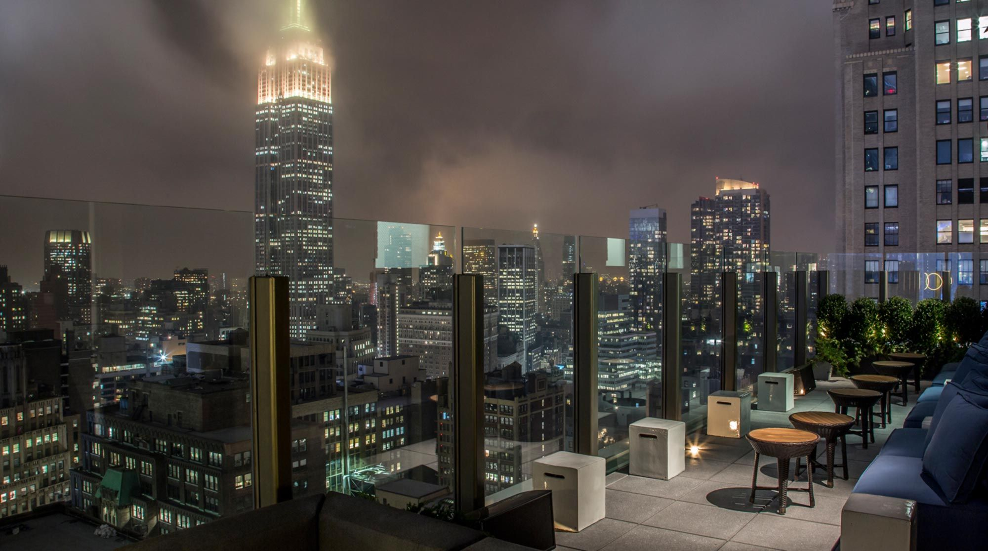 8 Of NYCu0027s Best Under The Radar Rooftop Bars. The Skylark