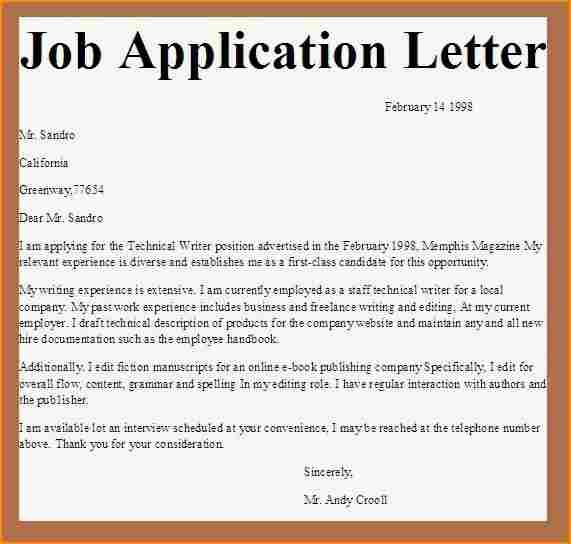related post how write application letter parts samples letterb - job application sample