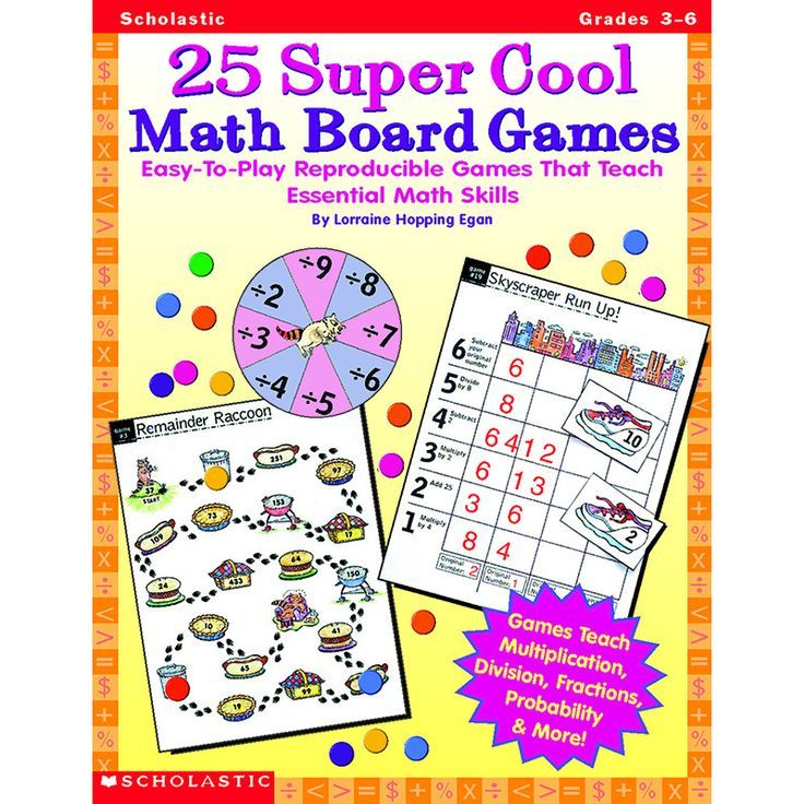 EasytoPlay Reproducible Games That Teach Essential Math