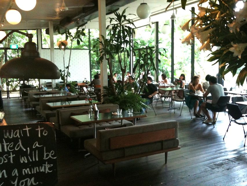 It S Stylish But Not Dressy Casual Slouchy The Interior Veers Towards Restaurant