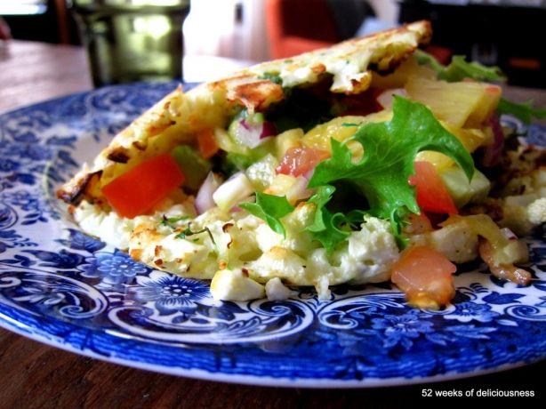Persilja-kukkakaalifajitakset » 52 Weeks of Deliciousness
