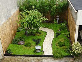 Jardin Japonais vue d'ensemble à Mantes-la-Jolie