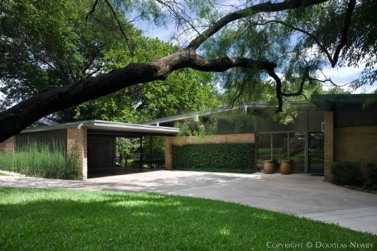MidCentury Modern Style Architecture Dallas Modern Homes East