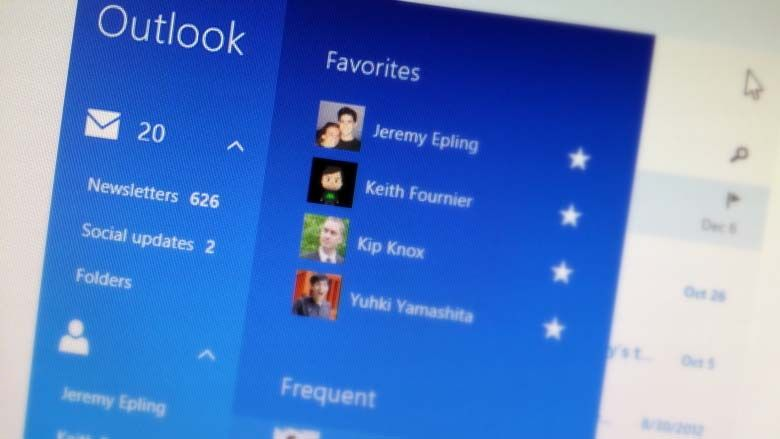 Windows 8.1 Mail app shines with features