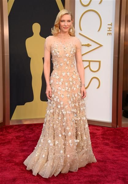 Cate Blanchett attends the 86th annual Academy Awards at the Dolby Theatre in Hollywood on March 2, 2014.