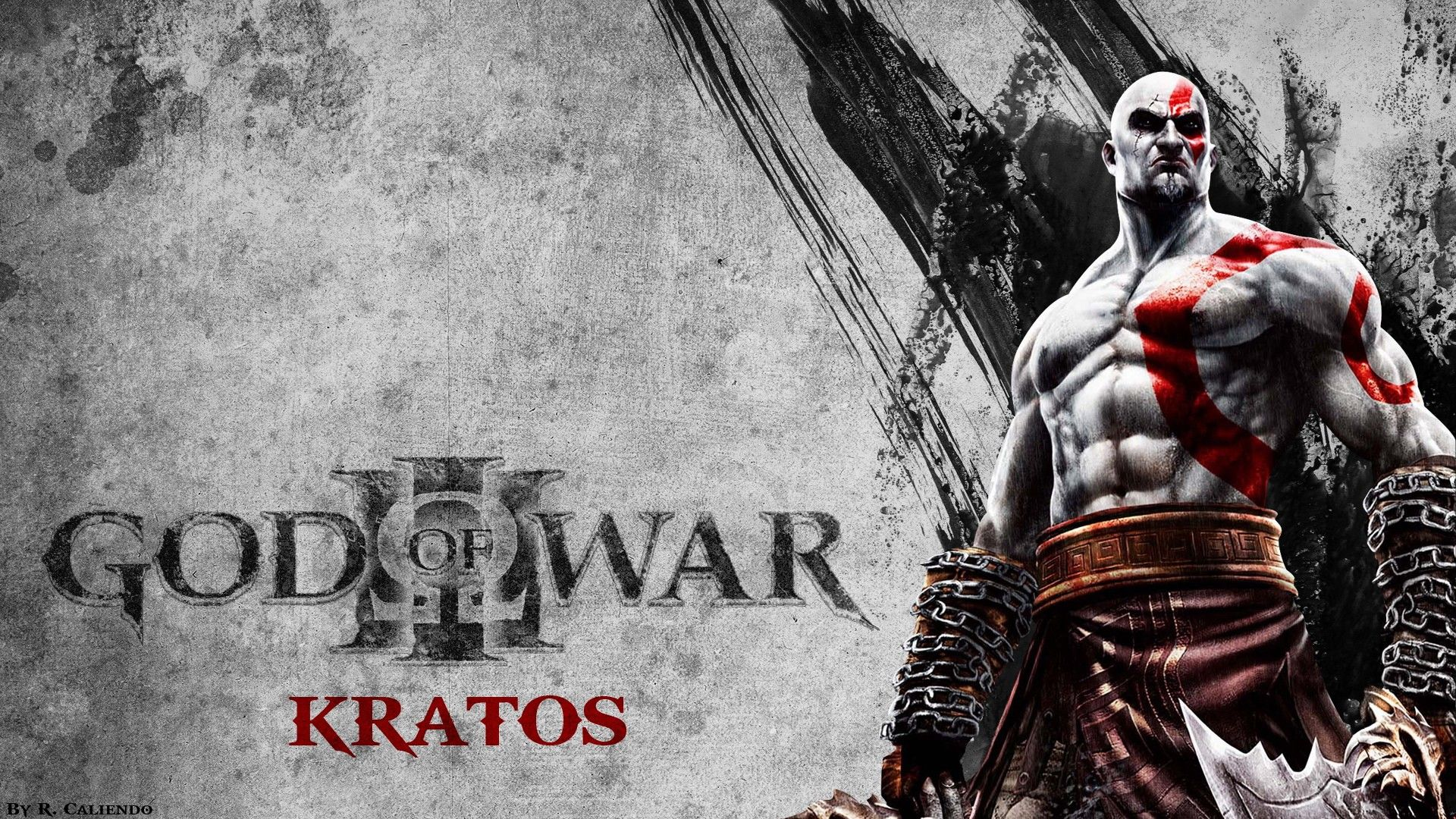 God Of War 3 Kratos Wallpaper Full Hd 5rr Awesomeness Pinterest