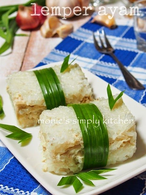 Resep Kue Favorit Lemper Ayam Resep Masakan Indonesia Resep Kue