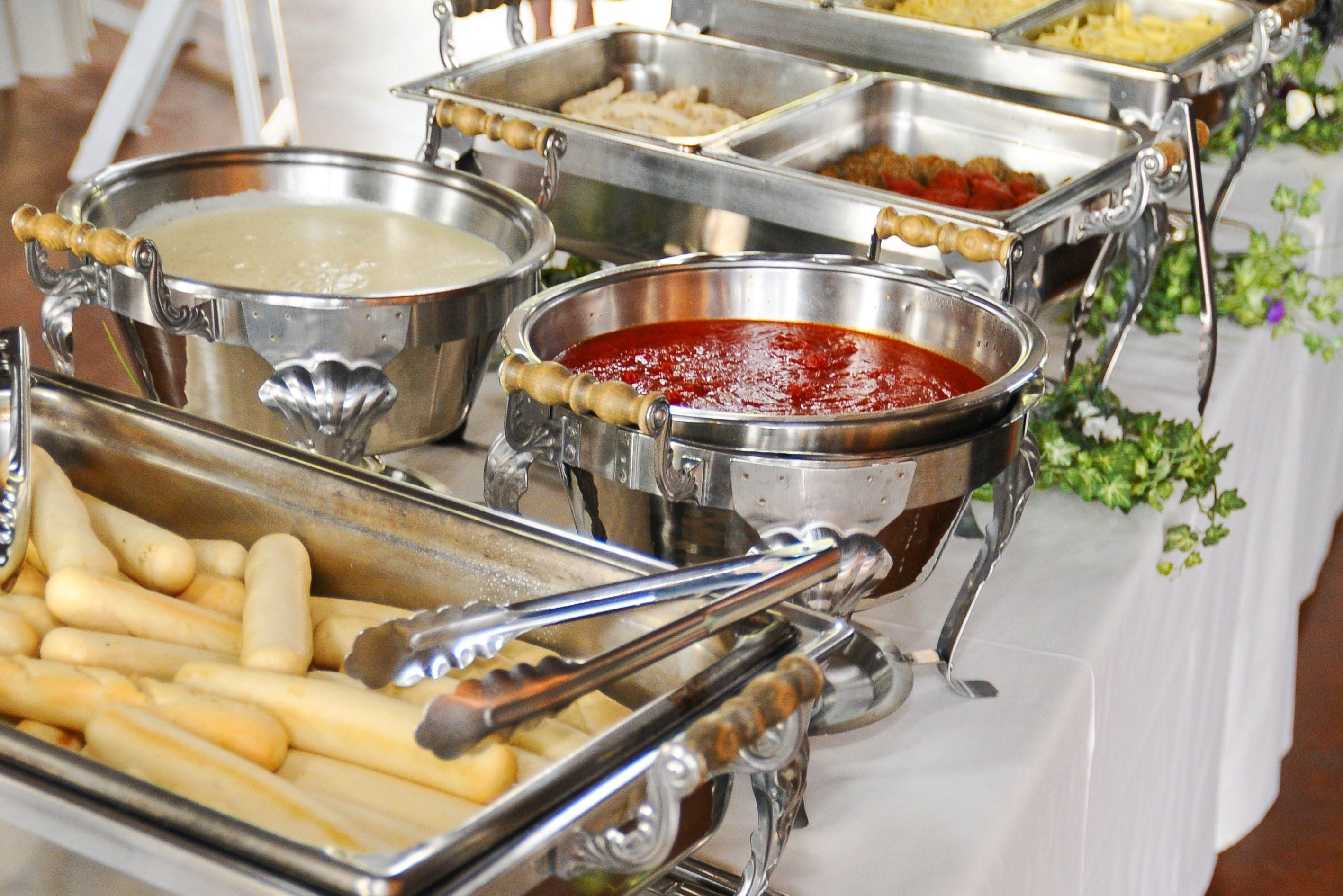 Italian Foods Near Me: Wedding Buffet Food, Wedding