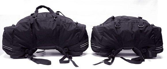 Wolfman Beta Rear Bags Bags Dual Sport Motorcycle Motorcycle Gear