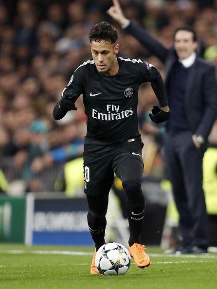 Neymar Jr Psg Vs Real Madrid - The Best Undercut Ponytail