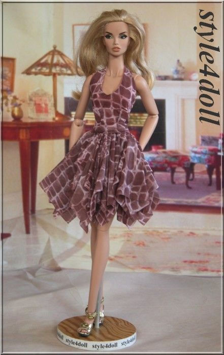 """style4doll outfit for FR 16 Fashion Royalty 16 """""""