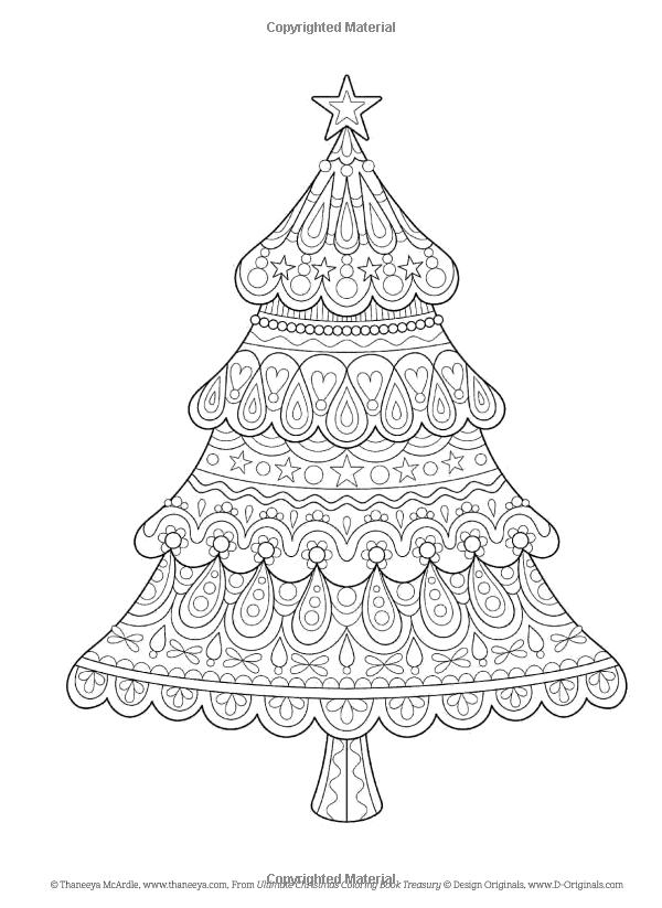 amazoncom ultimate christmas coloring book treasury color the season merry bright 9781497202504 mcardle thaneeya robin pickens robin van dam