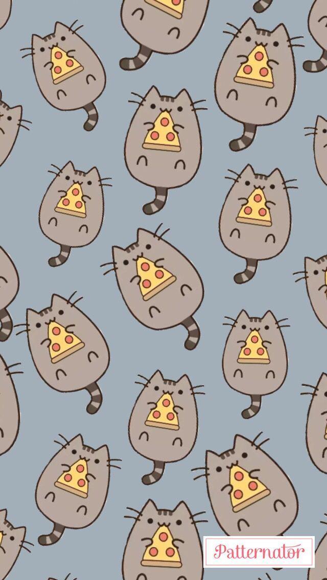 Photo of Pizza – Pusheen – #