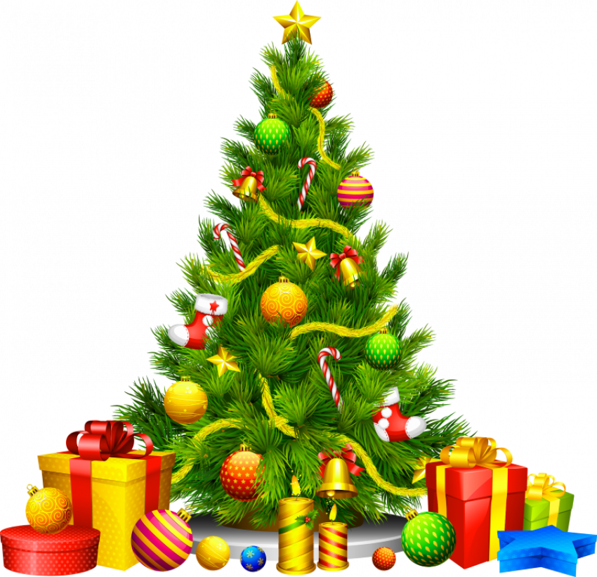 Merry Christmas Tree Png 112 This Is Merry Christmas Tree Png 112 Tree Png Cartoon Christmas Tree Christmas Tree Clipart Christmas Tree With Presents
