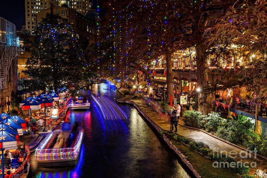 San Antonio Riverwalk During Christmas (With images) San