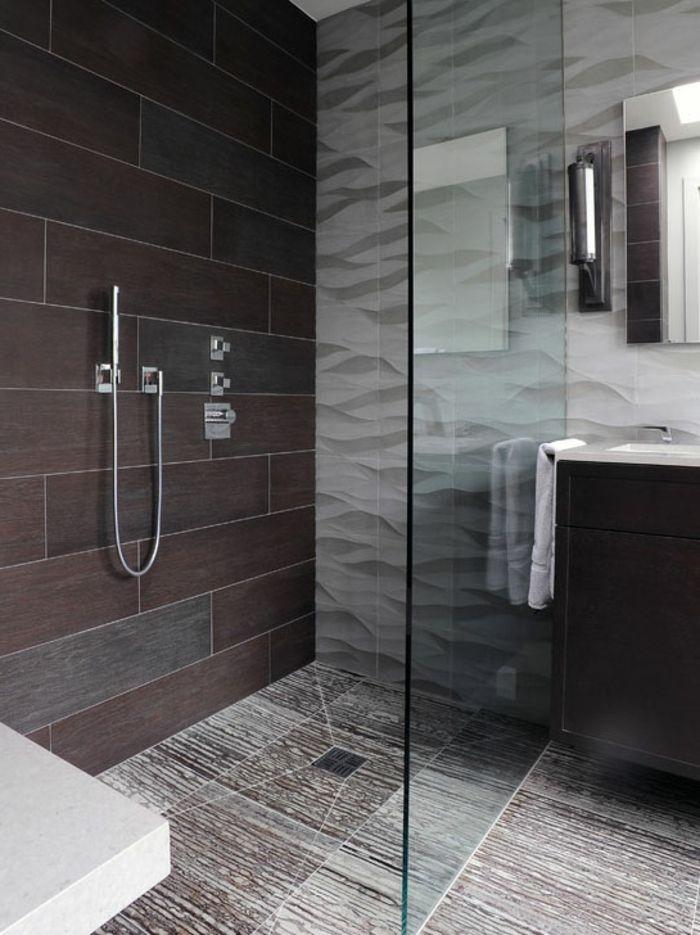 Badezimmerfliesen im Blickfang - 100 Ideen für Designs und Muster - muster badezimmer fliesen