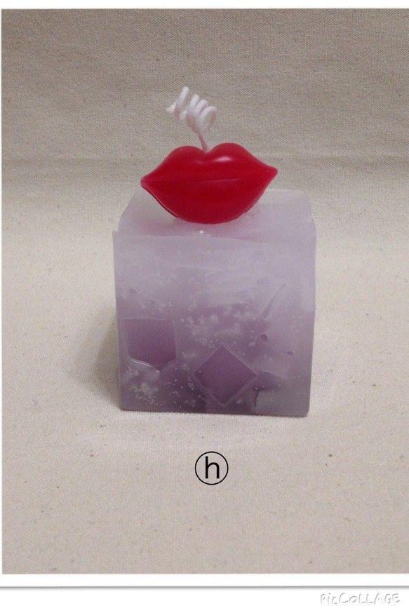 素材:パラフィンワックス、マイクロソフトワックスサイズ:高さ7cm(唇部分含まない場合約5cm)、横約5cm、奥行き約5cm色:パープル×白燃焼時...|ハンドメイド、手作り、手仕事品の通販・販売・購入ならCreema。