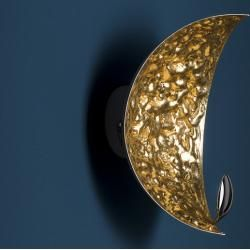 Photo of Catellani & Smith Stchu-Moon 05 wall lamp outside white / inside silver Catellani & Smith