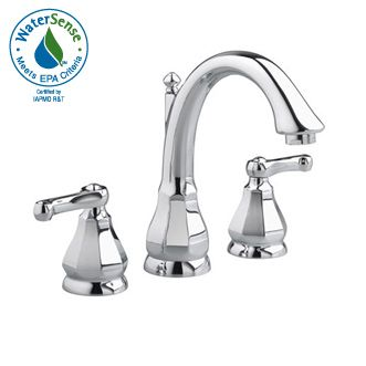 American Standard 6028 801 002 Dazzle Widespread Lavatory Faucet Chrome