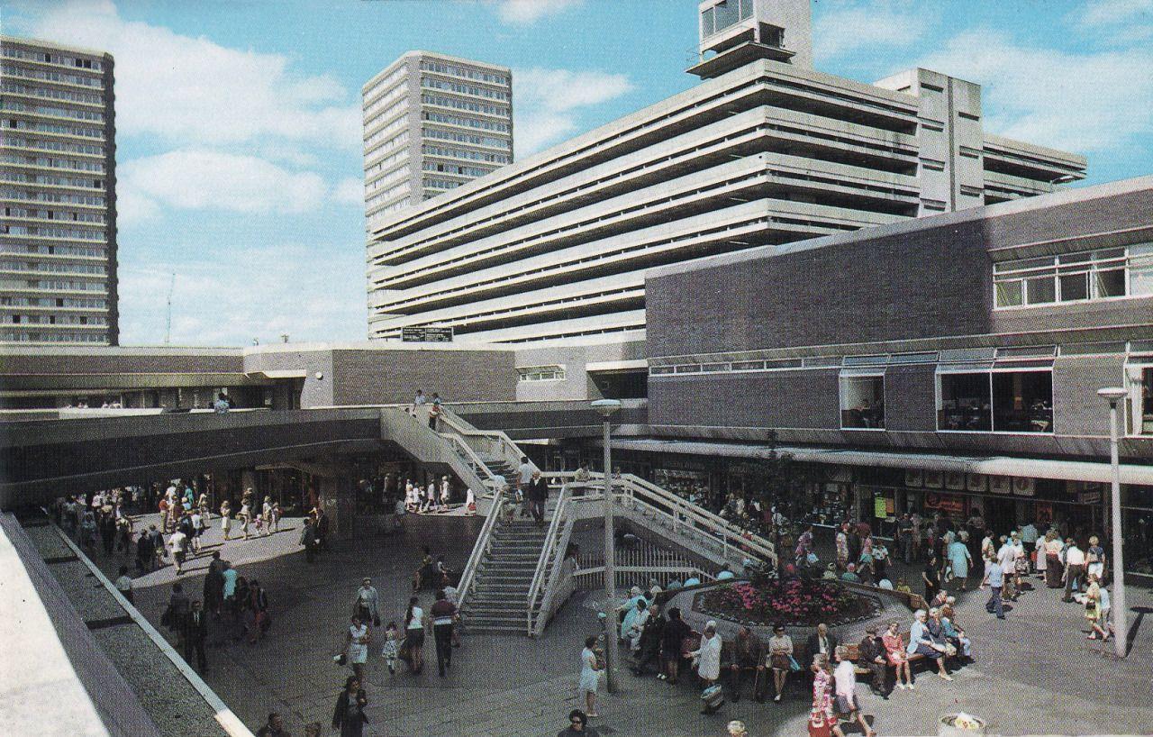 starrystillness a postcard of sunderland u0027s new town centre c