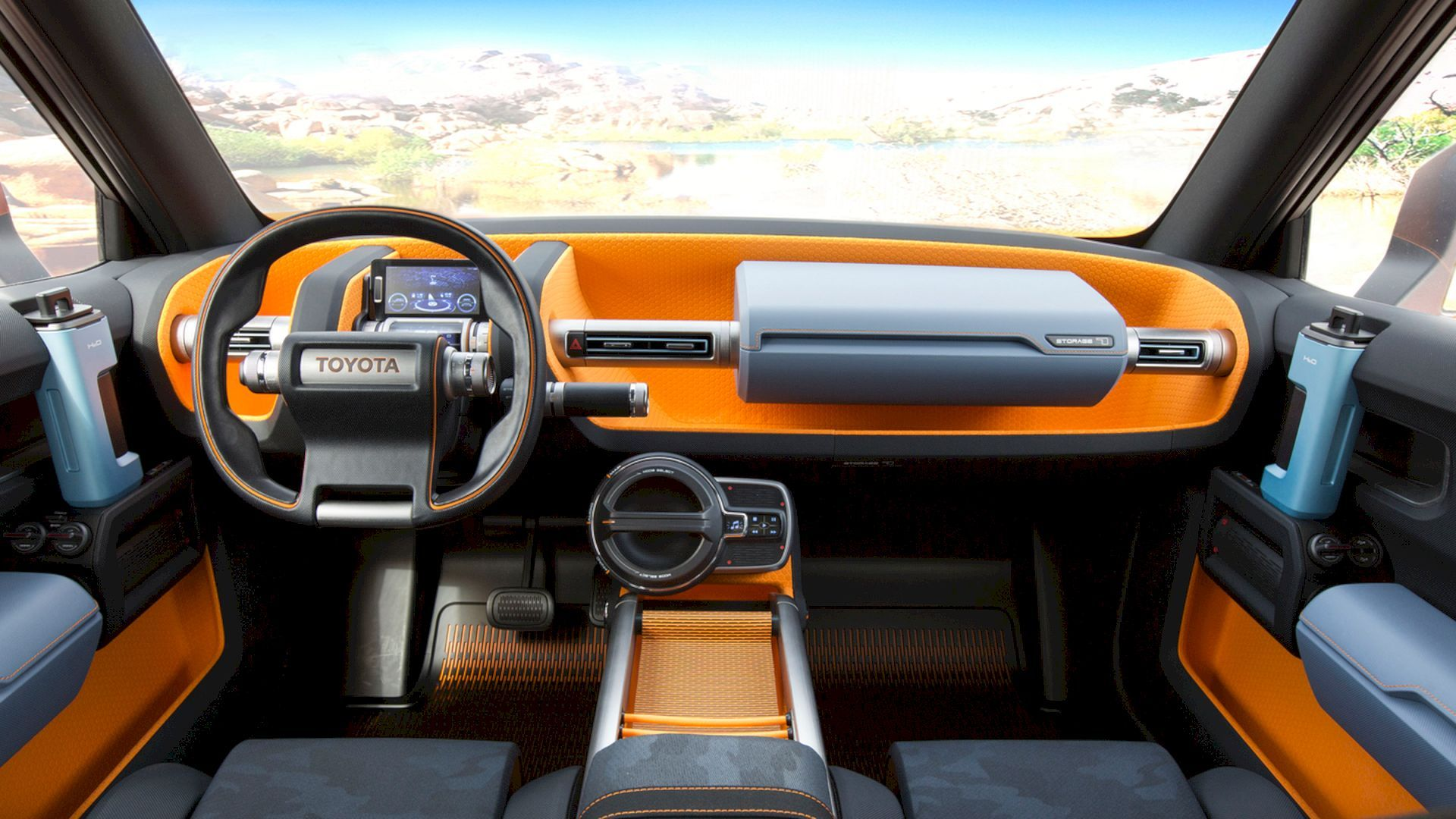 Get Stunned With The Stunning Toyota Ft 4x Concept Toyota Fj