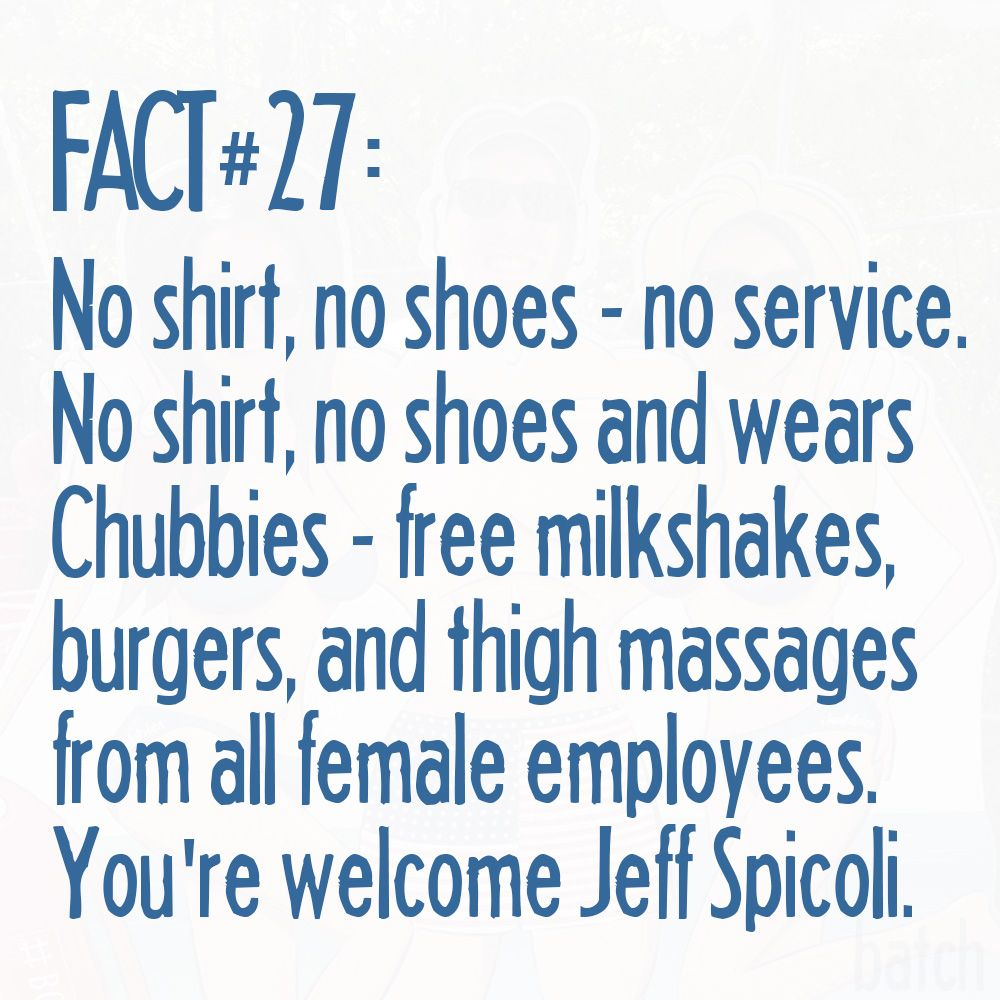 The Facts - Chubbies