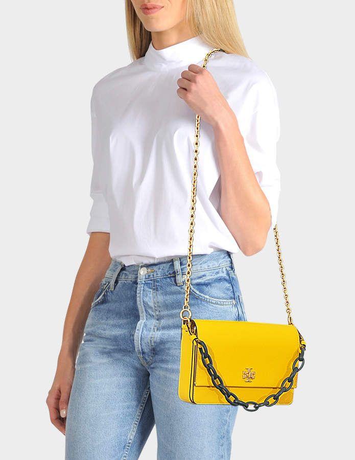 23f6c4a50574 ... Clutch Crossbody Bag in Calcaire Linen. Tory Burch Kira Shoulder Bag in  Daisy Green Danubio Soft Leather
