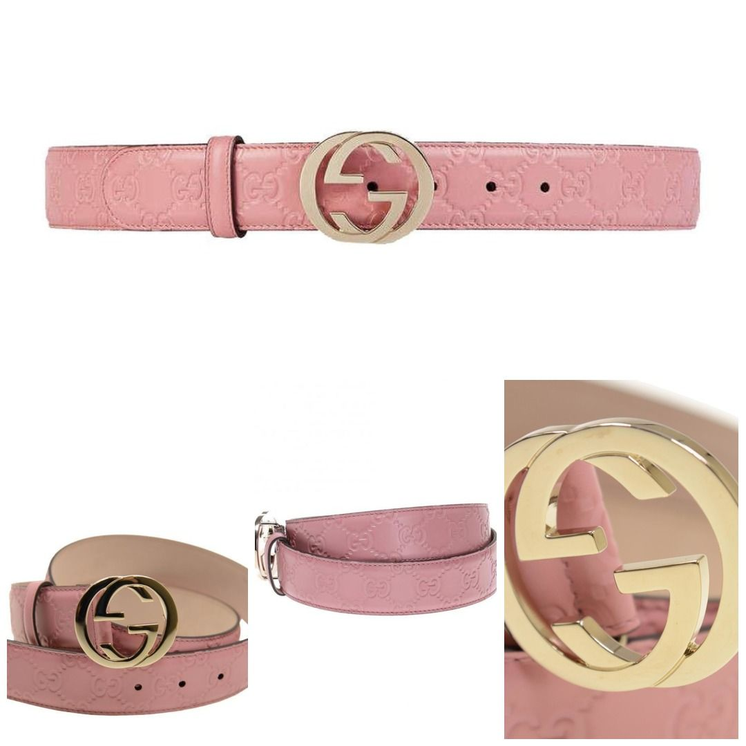 6698d1ce61 Gucci | Handbags | Pink belt, Gucci, Belt
