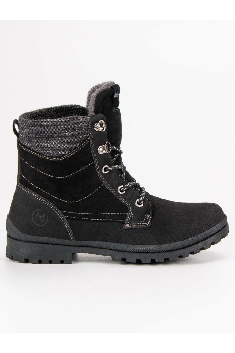 919a5efd429d5 Čierne trapery dámske členkové topánky na zimu MCKEYLOR | Čižmy ...
