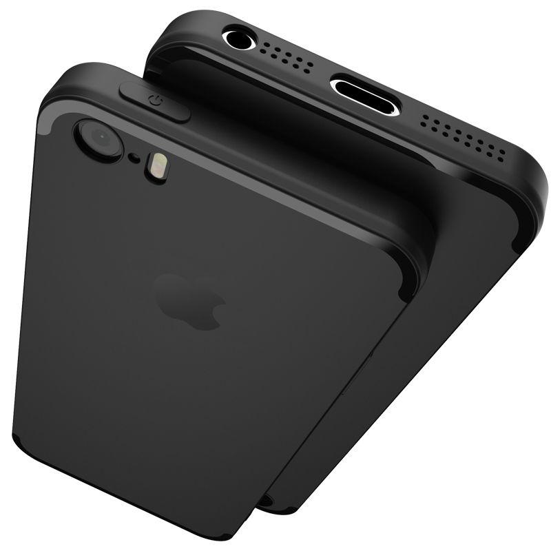 Original teléfono case para iphone 5s 5 se topk ultra thin tpu casos para apple iphone 5 5s silicio anti-cero SÍ