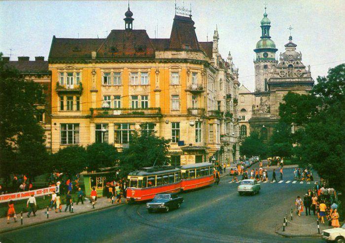 15 кольорових фото радянського Львова | Fotos