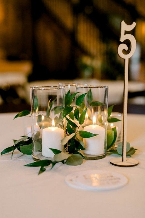 15 Budget Friendly Wedding Centerpiece Ideas With Candles The Clipart Prince In 2020 Candle Wedding Centerpieces Gold Wedding Centerpieces Gold Table Numbers Wedding