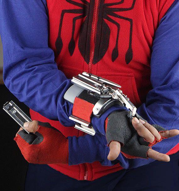 Web Shooter Full Metal Spiderman Homecoming Spiderman Homecoming Spiderman Spiderman Web
