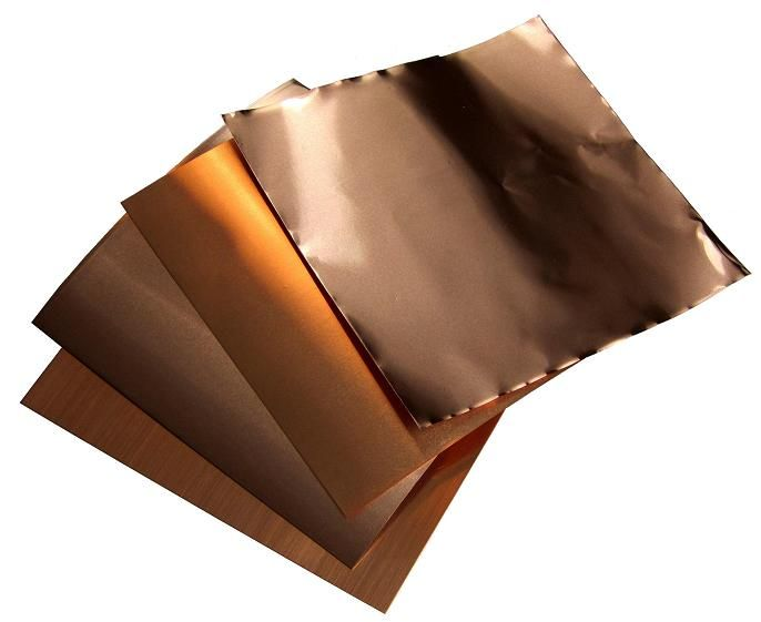 6 X 6 Sampler Copper Diy Copper Sheets Copper Crafts