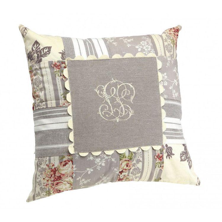 Anais Patchwork Cushion