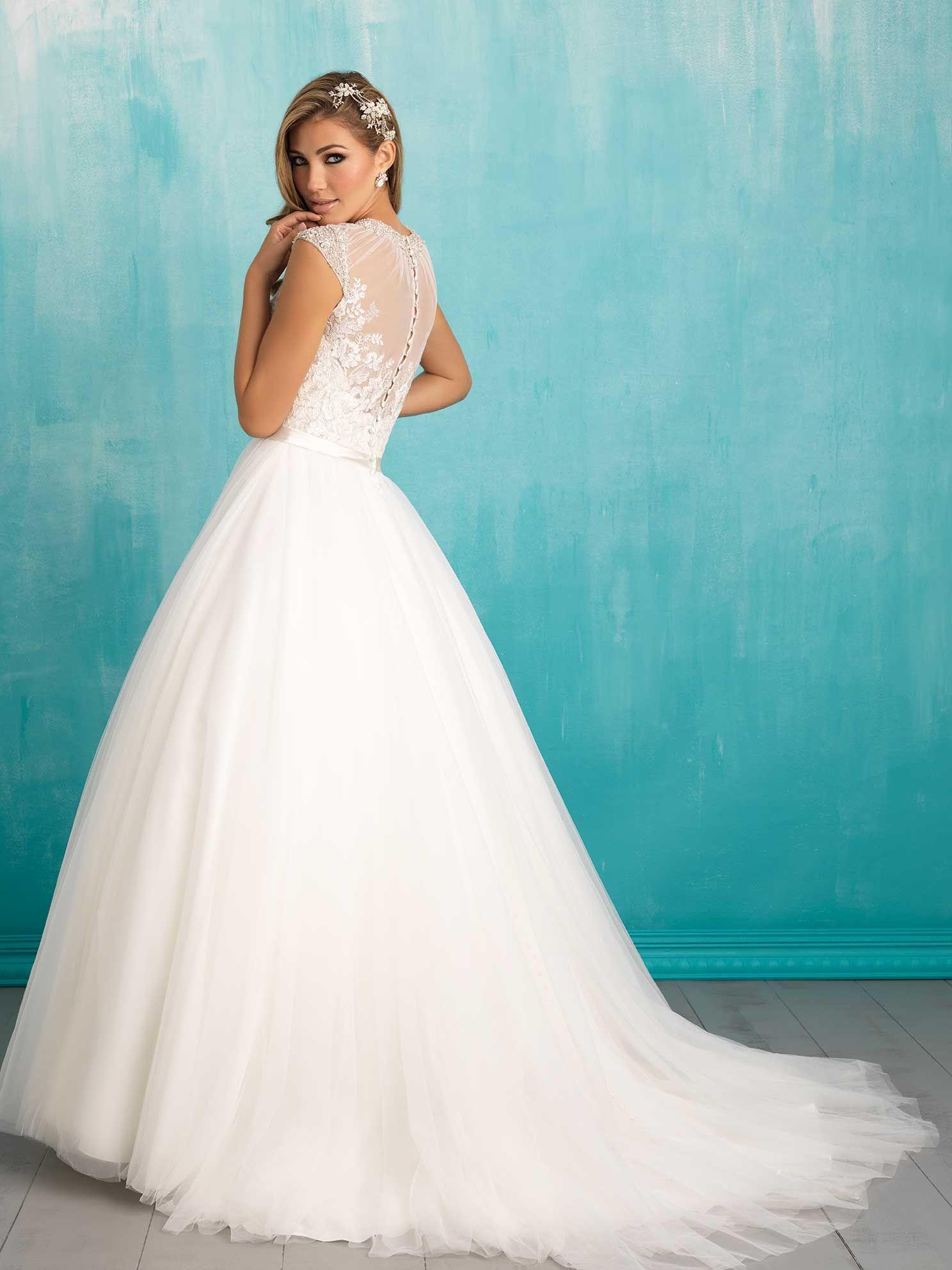 Allure Bridals 9301 // Spring 2016   allure bridals   Pinterest ...