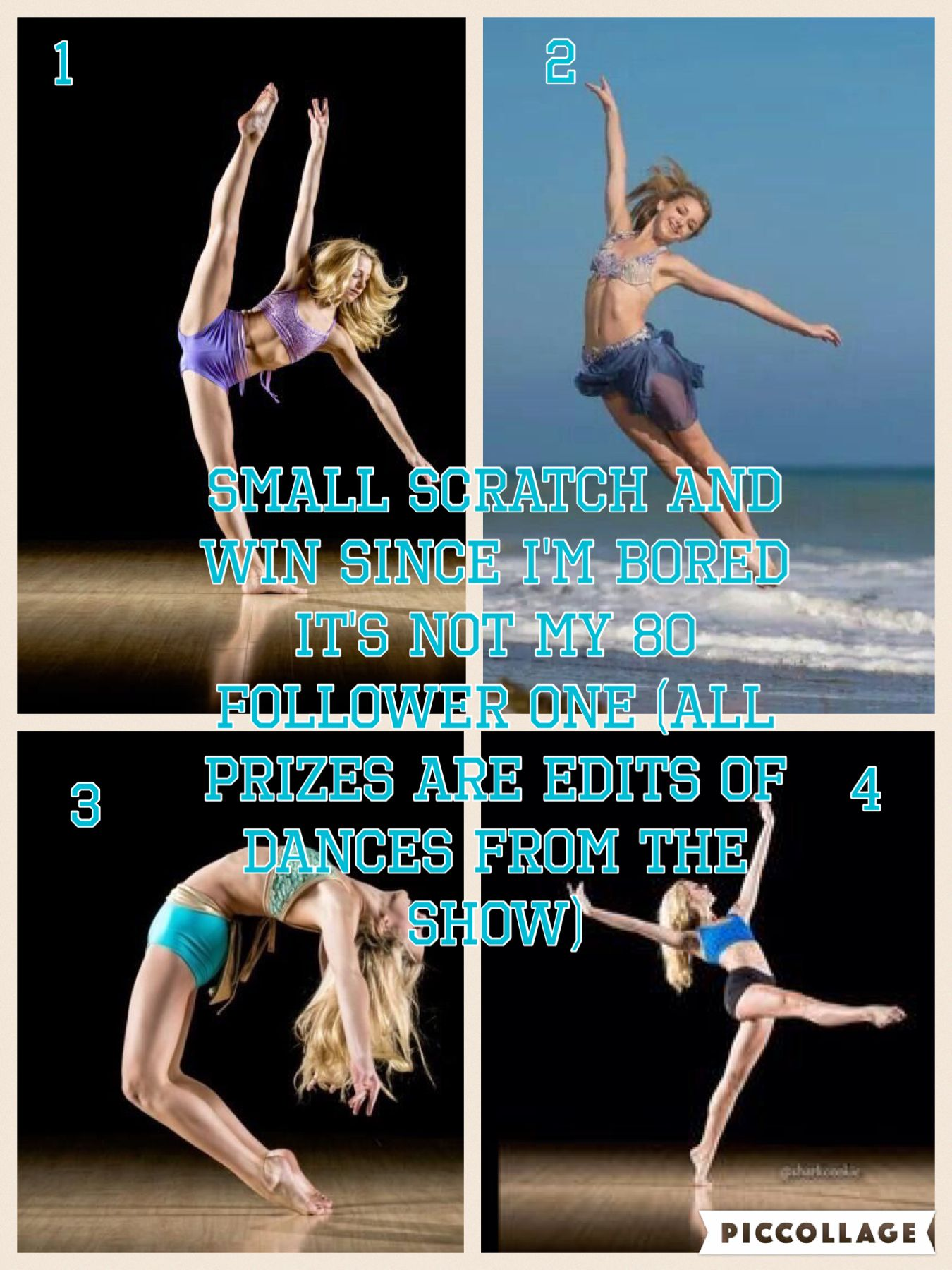 Spoiling it sort of  You can win An edit of a Trio Duo Solo  Group  From the show