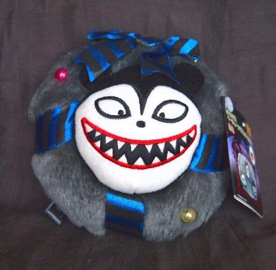 11 cm Vampire Teddy Plush Mascot Ornament Nightmare Before Christmas ...