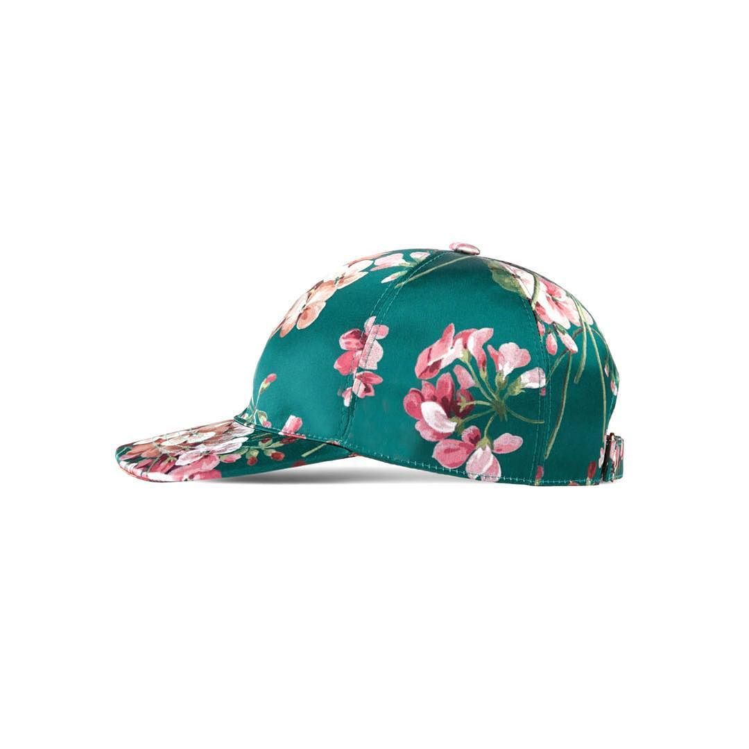 71144f750b2 Gucci blooms silk baseball cap brand new with dustbag and tags currently in  the boutique asking  300 comment for more information or to purchase this  item
