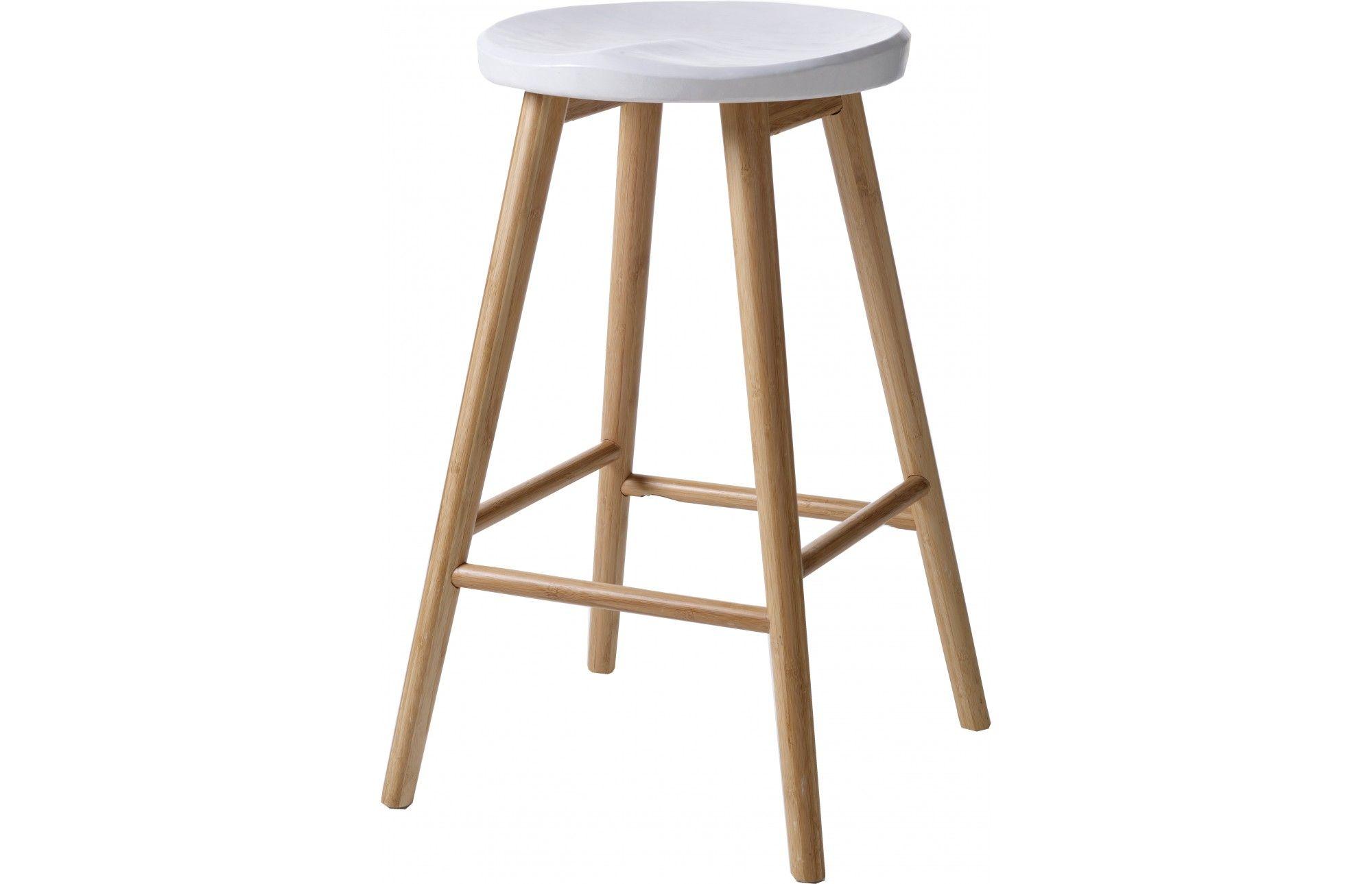 Kiki Designer White Bar Stool   Designer bar stools, Bar stool and ...