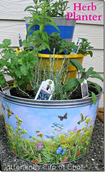Diy Herb Planter 3 Tier Herb Planters Herb Garden In Kitchen