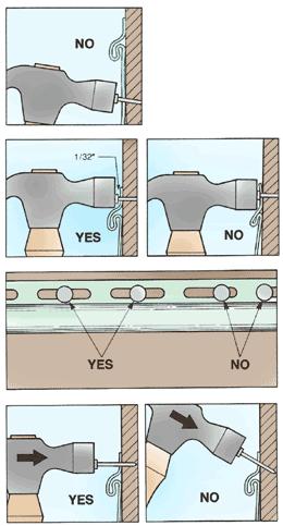 How To Nail Vinyl Siding Hometips Vinyl Siding Installation Vinyl Siding Vinyl Siding Repair