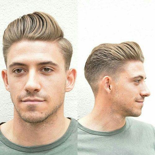 Corte de pelo hombre a cepillo