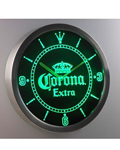 Special Offers Corona Extra Crown Beer Bar Neon Sign Led Wall Clock In Stock Free Shipping You Can Save More Money Led Wall Clock Wall Clock Neon Clock