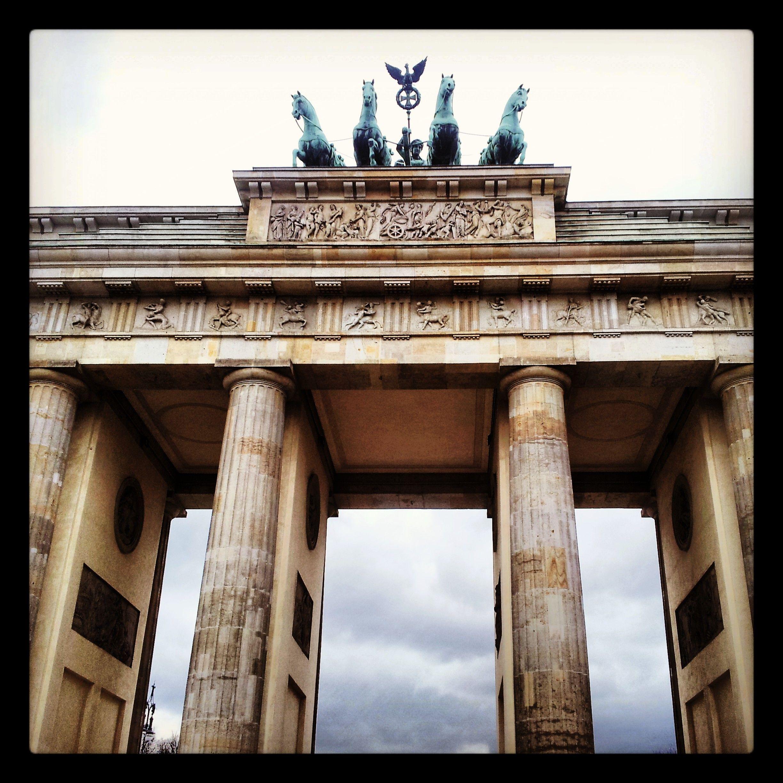 Brandenburger Tor Puerta Brandenburgo Berlin Alemania Monumentos Berlin Alemania Alemania