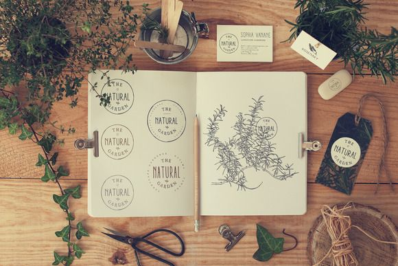 stationery mock up garden 1 by qeaql on creative market graphic