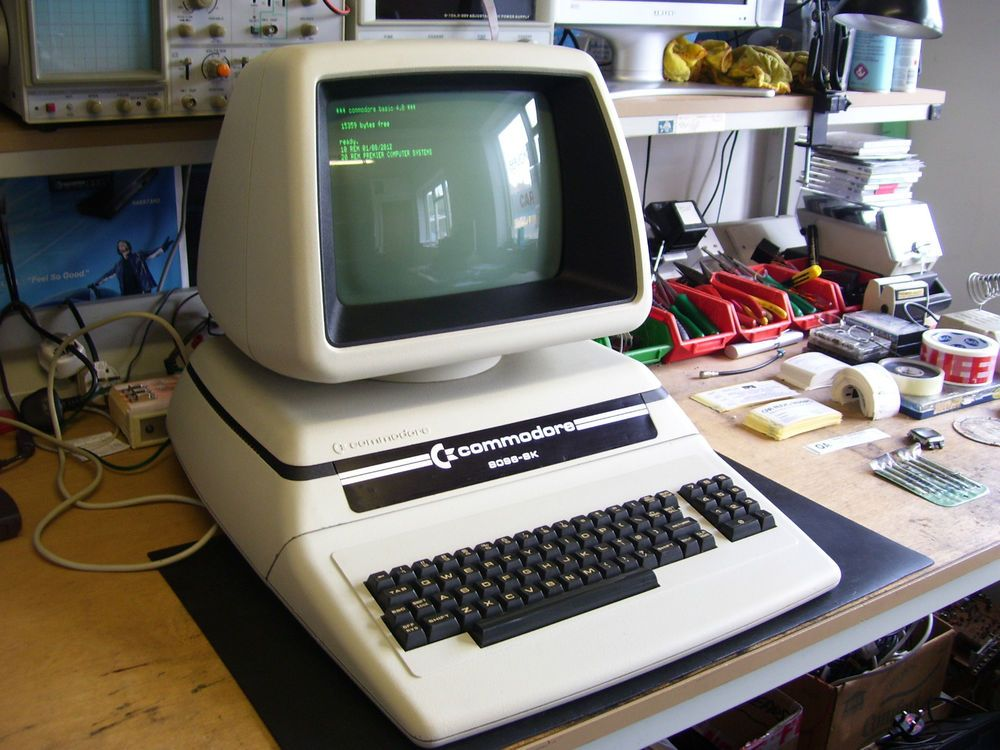 Ultra rare vintage porsche commodore pet 8096 sk computer (vgc ...