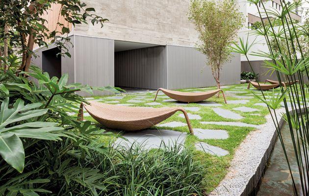 Vertical Itaim São Paulo By Marcio Kogan Garden Pool 400 x 300